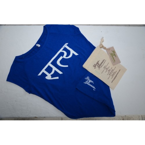 Womens Satya T-shirt - blue  £23
